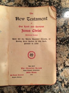 Klopsch Red Letter Bible